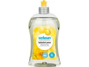 prostředek na nádobí citrón SODASAN 500ml