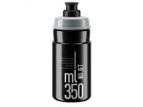 lahev ELITE Jet 21´černá/šedé logo 350 ml