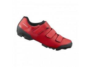 boty Shimano XC100 červené