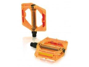 pedály XLC Plattform PD-M16 oranžové
