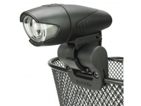 držák světla KlickFix Light Clip pro koše černý