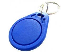 RFID prístupový čip 13,56MHz, prívesok, modrý