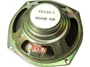Repro YD-120,120x45mm 8ohm / 6W, feritový magnet