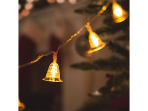 Reťaz vianočný 58216 zvonček