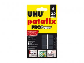 Lepiaca guma UHU PATAFIX PROPower čierna