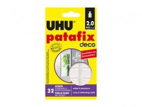 Lepiaca guma UHU PATAFIX Homedeco biela