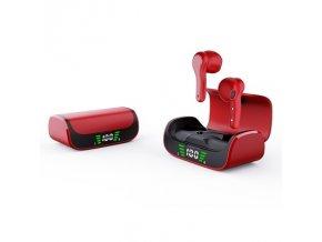 Slúchadlá Bluetooth TWS K28 červená
