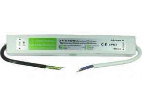 Zdroj - LED driver 24V DC / 36W