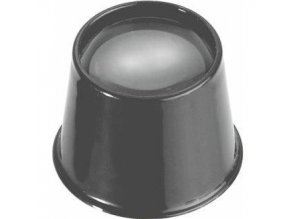 Očné hodinárska lupa 25mm, zväčšenie 6x