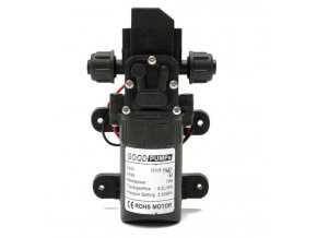 Čerpadlo FL-3308 membránové samonasávacie, 6l / min, 12V / 70W