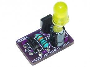 Indikátor 230V AC LED žltá STAVEBNICA