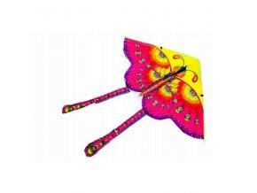 KIK Veľký lietacie drak Motýľ 90 x 90 cm