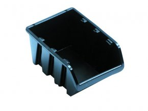 Box úložný 118x78x60mm čierny