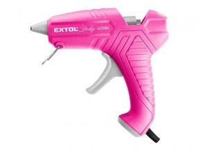 Pištoľ lepiaca EXTOL LADY 422004 40W