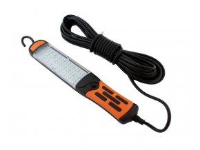 Pracovné svietidlo - montážna lampa LED COB 60x, 230V, prívod 8m
