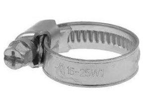 Sťahovacia páska kovová 16-25mm / hadicová spona /