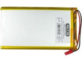 Akumulátor LiPo 3,7V / 10000mAh 1072125 / Nabíjacia batéria Li-Pol /