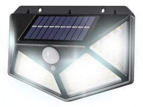 Nástenná solárna lampa a snímačom pohybu a súmraku LTC