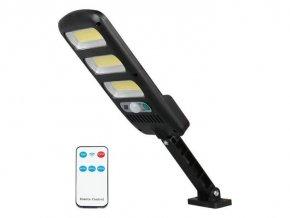 Vonkajšie solárne LED osvetlenie LTC, 24W COB, 1800lm, 1800mAh, PIR