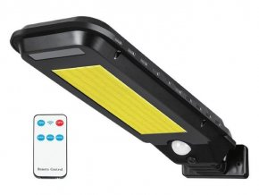Vonkajšie solárne LED osvetlenie LTC, 30W COB, 2000L, 2400mAh, PIR