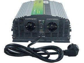 Menič napätia + UPS 12V / 230V / 1000W, NPS1000 čistá sinus. vada v nabíjania