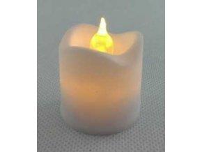 LED náhrobná sviečka na hrob 4 x 3,5cm