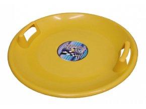 kluzák talíř Superstar žlutý 60cm