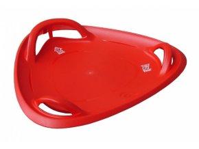 kluzák talíř Meteor červený 60cm