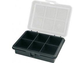 Krabička na súčiastky 120x100x28mm 6 sekcií, ArtPlast 3100