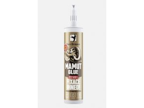 Lepidlo MAMUT GLUE (High tack) Den Braven, 290 ml, biela