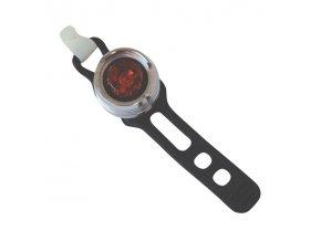 Svítilna na kolo zadní, 1 LED, bílá