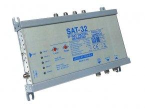 LEM-ELETTRONICA SAT-32 hlavní stanice pro jednokabelový systém