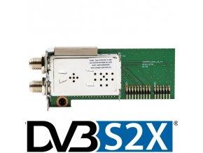 Octagon tuner Twin Duál DVB-S2X