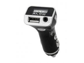 Transmitter do auta FM BLOW BL 74-136 + USB nabíječka 2.1A