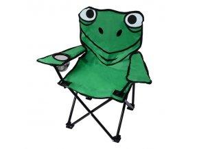 Židle kempingová skládací malá FROG