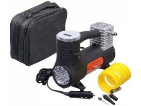 Kompresor 12V POWER BULL digitální se světlem