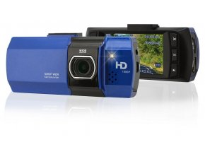 "Kamera do auta Full HD 2,7"" modrá Compass 33612"