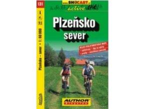 mapa cyklo Plzeňsko sever,131
