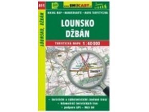 mapa cyklo-turistická Lounsko,411