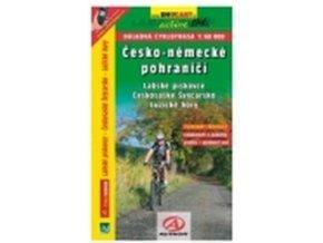 mapa cyklo Česko-Německé pohraničí, Lužické Hory