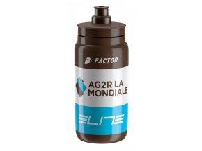 lahev ELITE FLY TEAM AG2R hnědá 550 ml