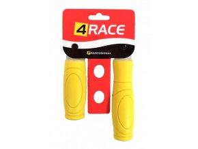gripy 4RACE 125+92mm žluté