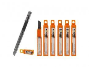 Nůž odlamovací RETLUX malý sada 1xRSK 100 + 6xRSK 10