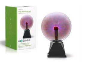 Plazmová Světelná Koule NEDIS FUDI215BK
