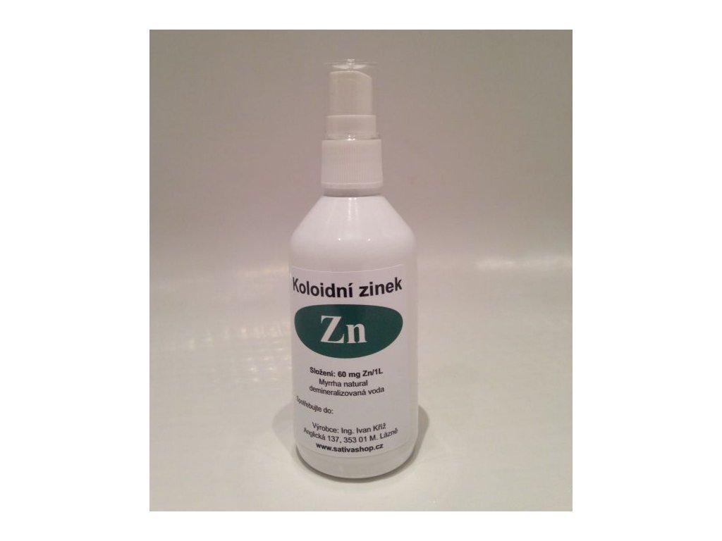 Koloidní zinek s myrrhou ve spreji 115 ml