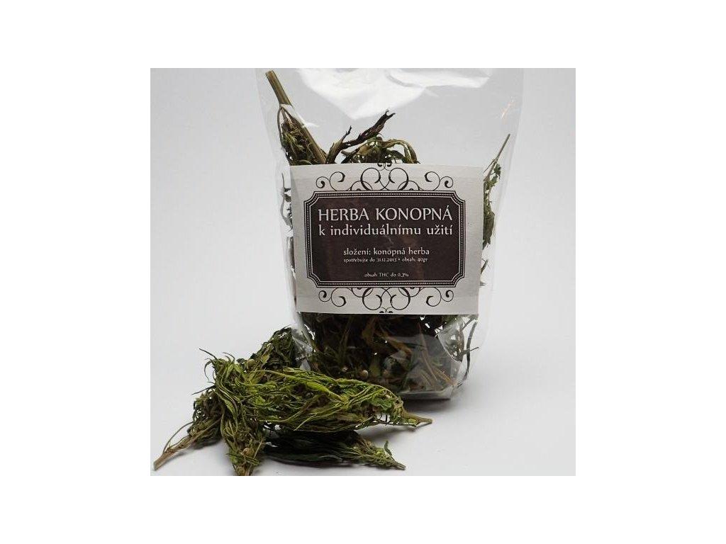 Konopný čaj Carmagnola (CBD a CBG) 40 g