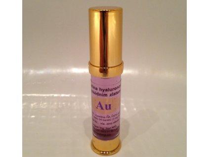 Kyselina hyaluronová 100% pure s koloidním zlatem 10 ml