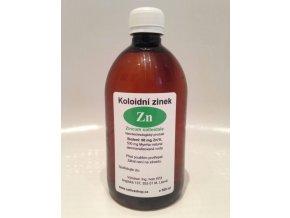 Koloidní zinek s myrrhou 500 ml skleněná lékovka