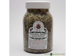 Přírodní koupelová sůl z Mrtvého moře s konopnou herbou 500 g