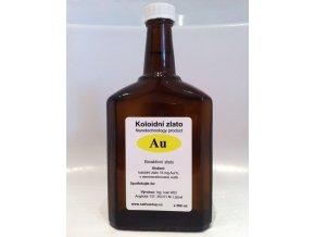 Koloidní zlato 500 ml skleněná lékovka